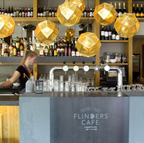 €15,00 korting bij Flinders Café Schuitendiep
