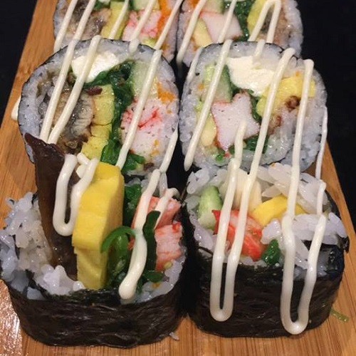 All you can eat (di/wo) bij Asaka