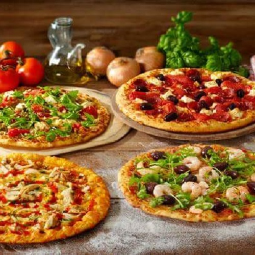 Take Away 2 medium pizza's bij New York Pizza Enschede