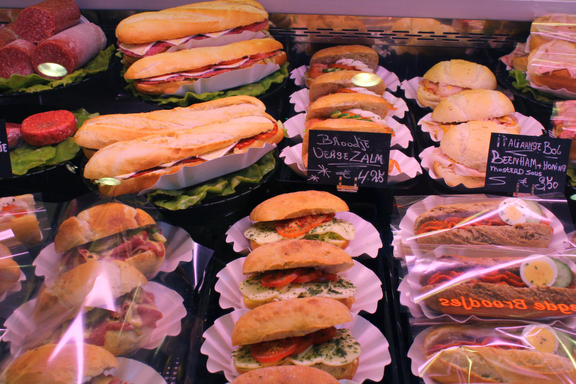 Lunch bij Breedeveld Lunchroom