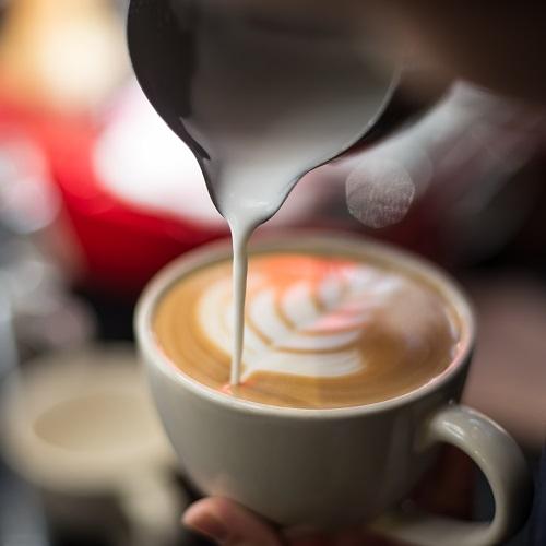 Koffie met lekkers bij Biorie