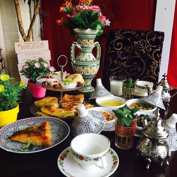 High Tea bij Tajine Marokkaans Restaurant