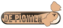 Lunchroom de Pionier Logo