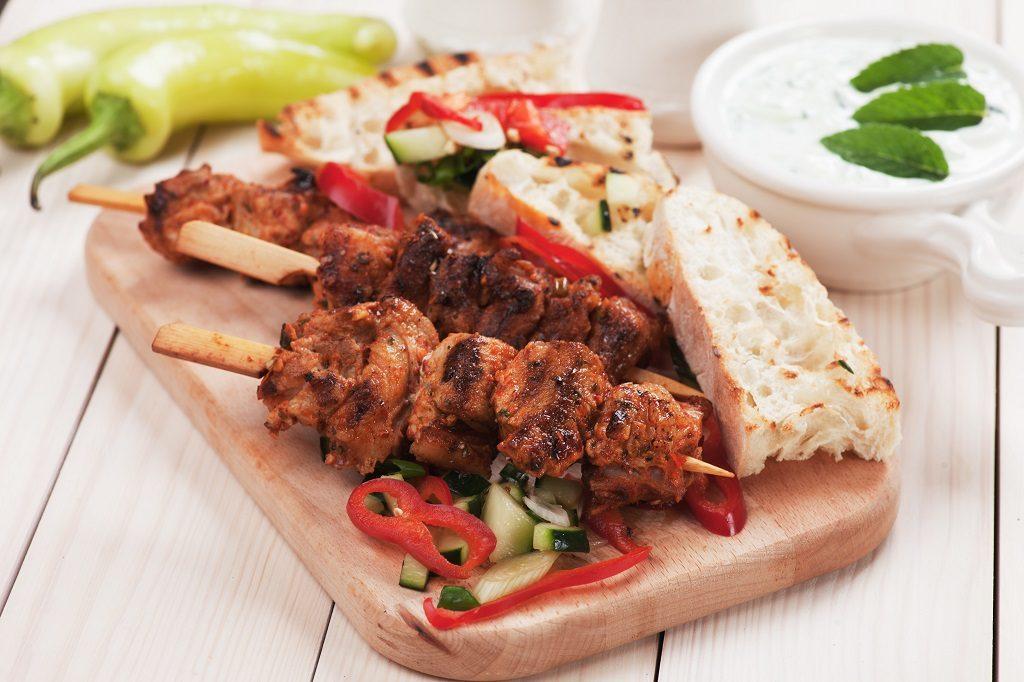 Afhaaldeal souflaki bij Grieks Specialiteiten Restaurant Olympia
