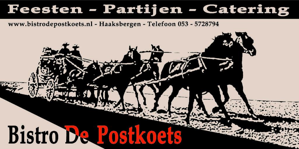 Bistro de Postkoets Logo