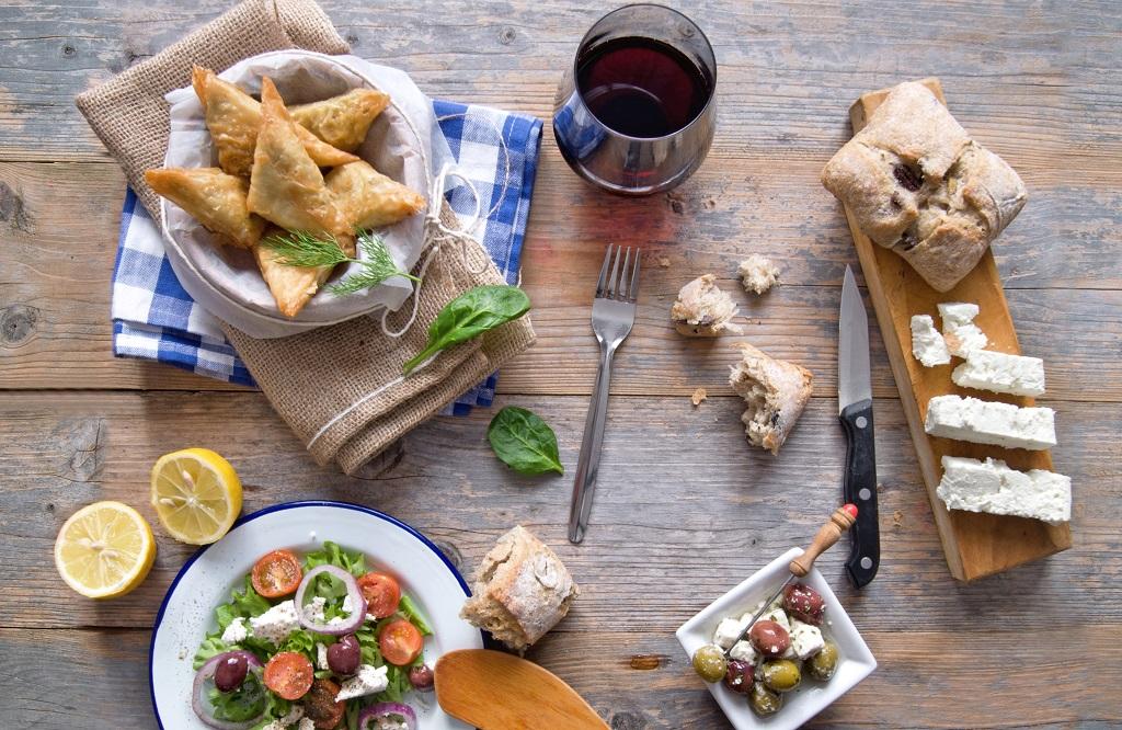 Royal Lunch bij Grand Taverna Alexandros Almere