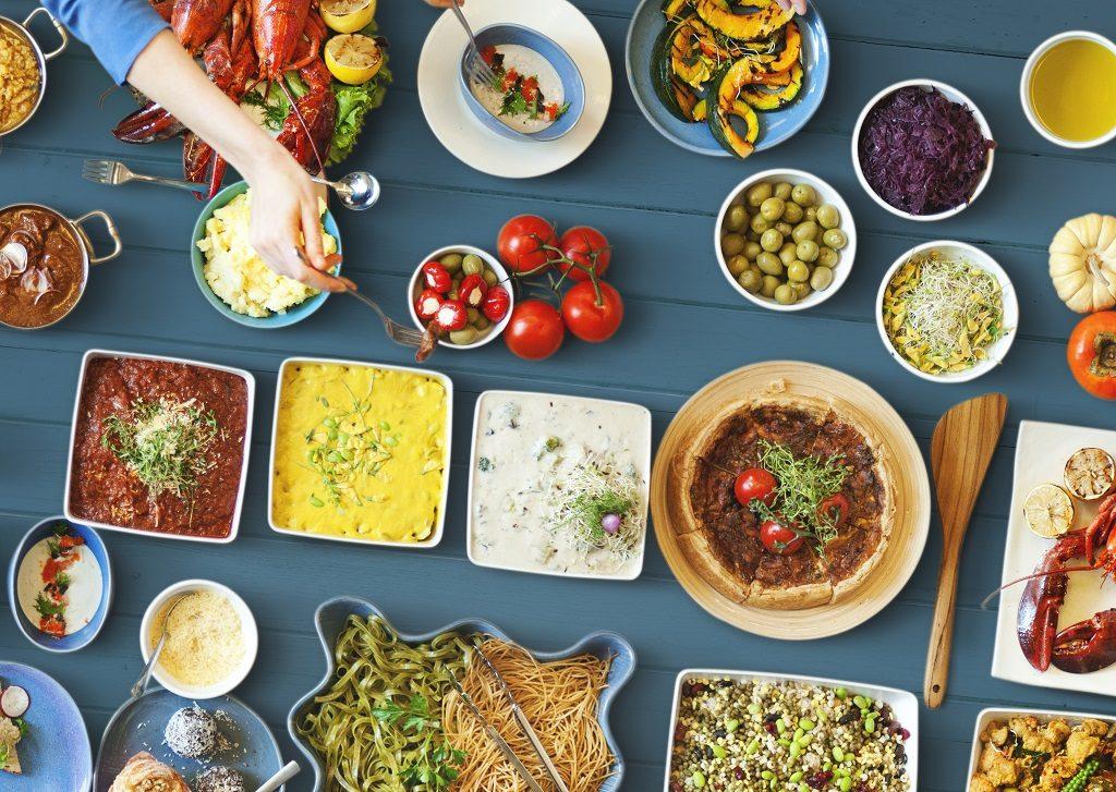 Mezza-diner bij Restaurant Ugarit