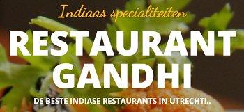 Indiaas Restaurant Gandhi Logo