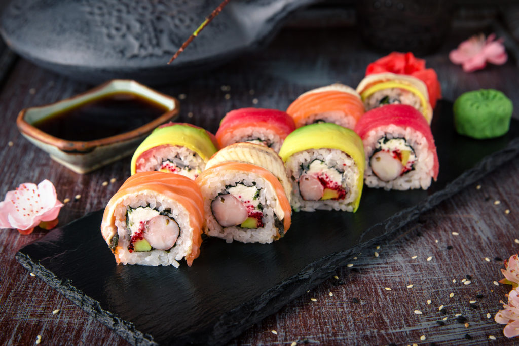 Take Away Sushi bij Restaurant Wereldgeluk