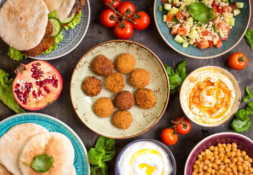 Take Away mezza diner bij Restaurant Ugarit