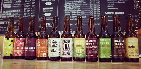 Alle bieren van Baxbier Brouwerij in Groningen