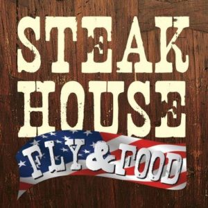 Steakhouse Fly & Food Logo