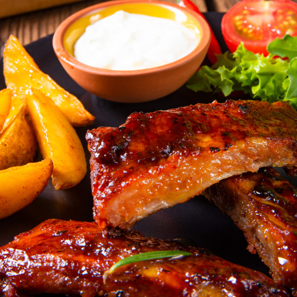 Take Away Spareribs bij Captain Cook