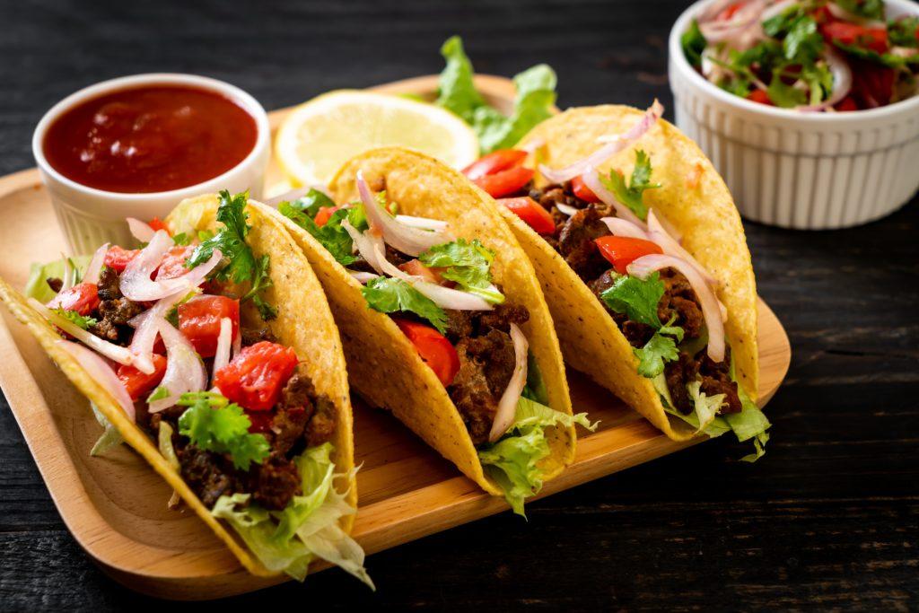 Taco arrangement bij Mangú