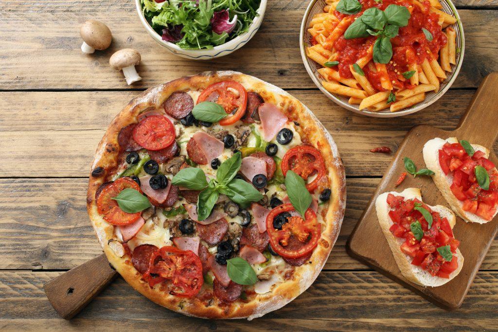 Pizza/pasta + drankje bij Pizzeria Italia Groningen