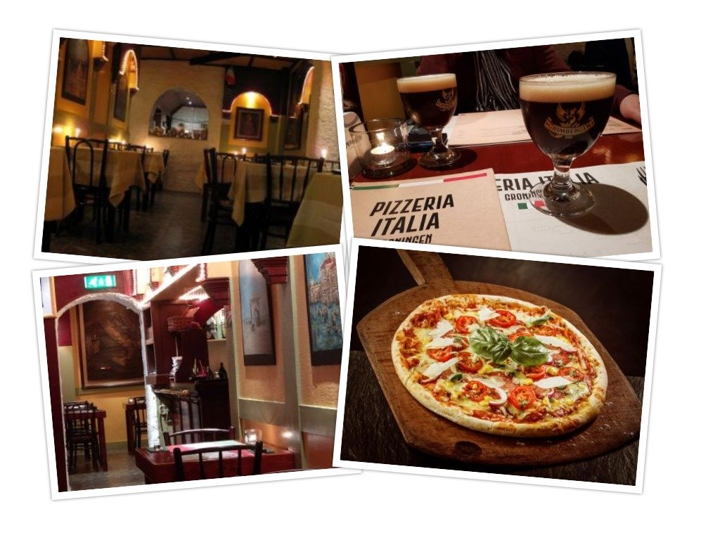 Pizzeria Italia Collage