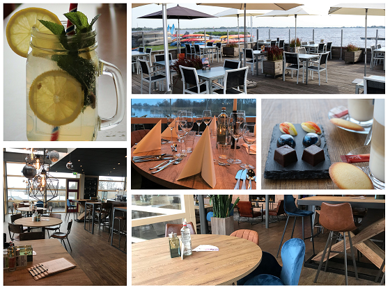 Collage Restaurant Cnossen Leekstermeer