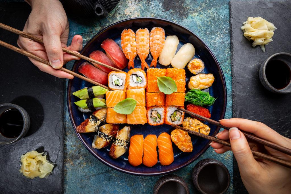 Sushi bij Sushi de Luxe