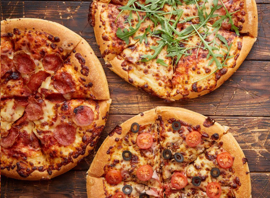 Afhaaldeal: 3 pizza's bij Pizzeria Italia Groningen