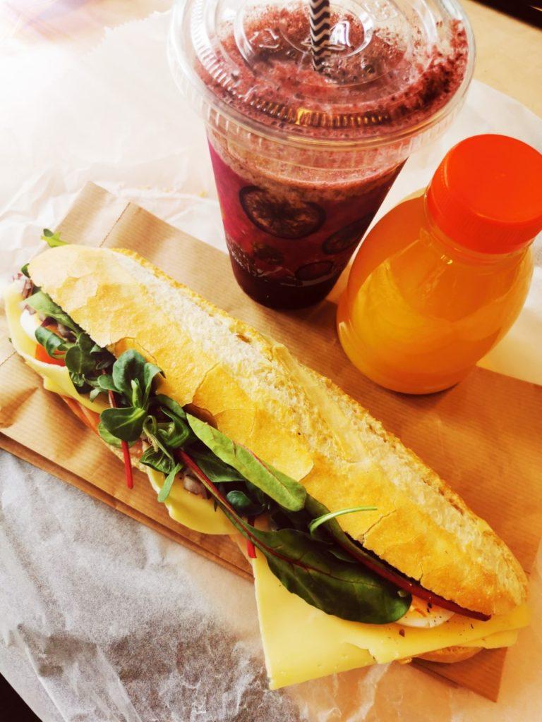 Afhaaldeal lunchpakket bij Croissanterie Du Nord