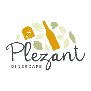 Dinercafé Plezant Logo