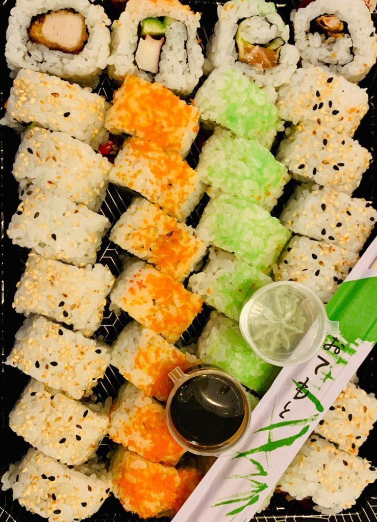 Afhaaldeal: sushi box bij Restaurant Wereldgeluk