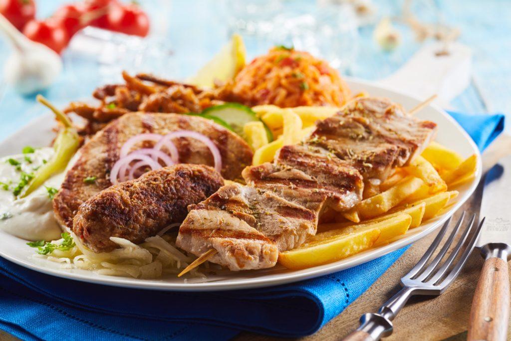 Dagaanbieding - Afhaaldeal Athene-Schotel bij Grieks Specialiteiten Restaurant Olympia dagelijkse koopjes